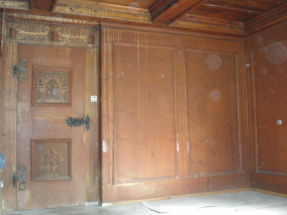 stube in churwalden sandstrahlen mobil sandstrahlen von metall holz altholz fassaden. Black Bedroom Furniture Sets. Home Design Ideas